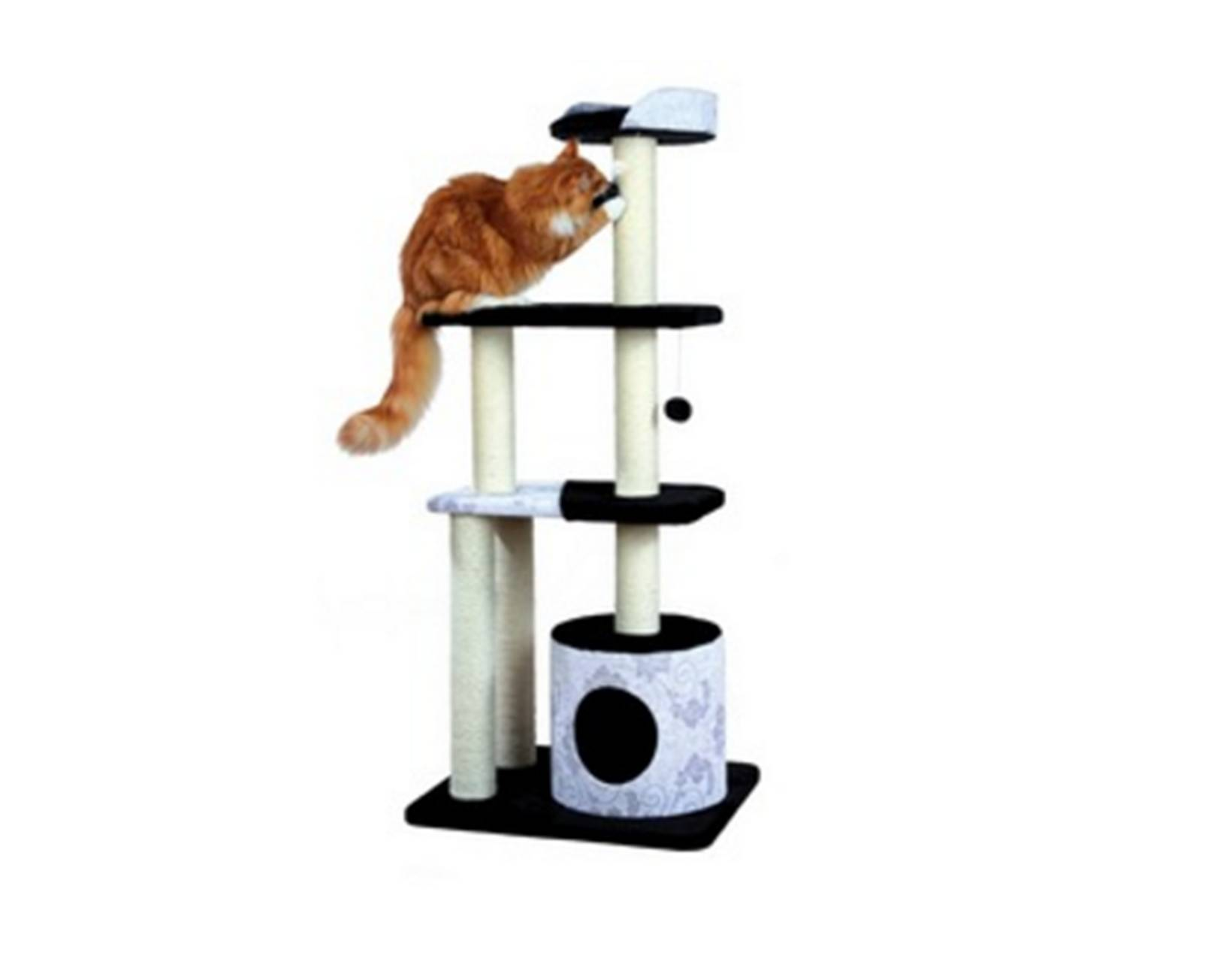 Схема домик для кота