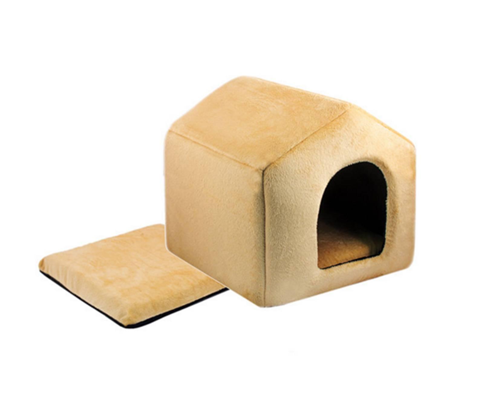 Дом из поролона для кошки своими руками