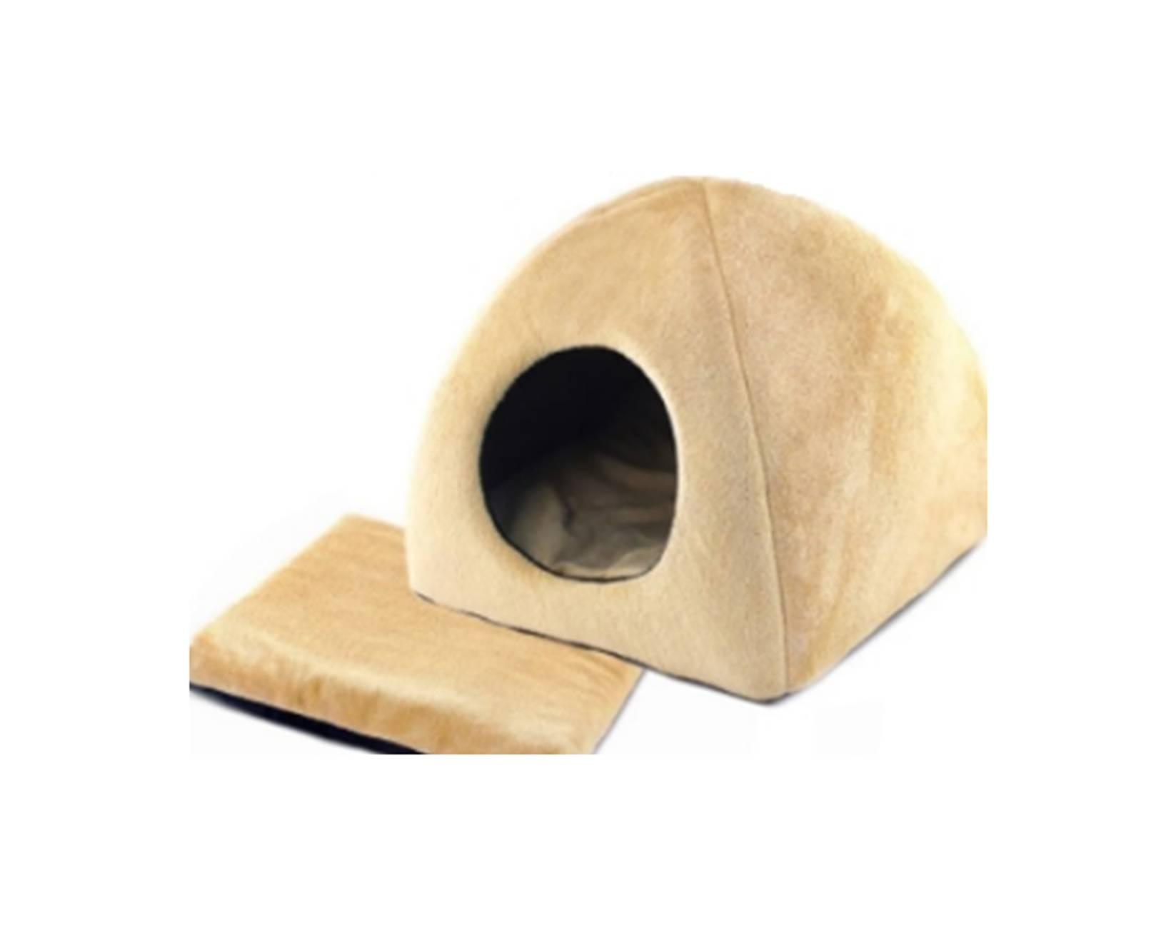 Как сделать мягкий дом для кошки
